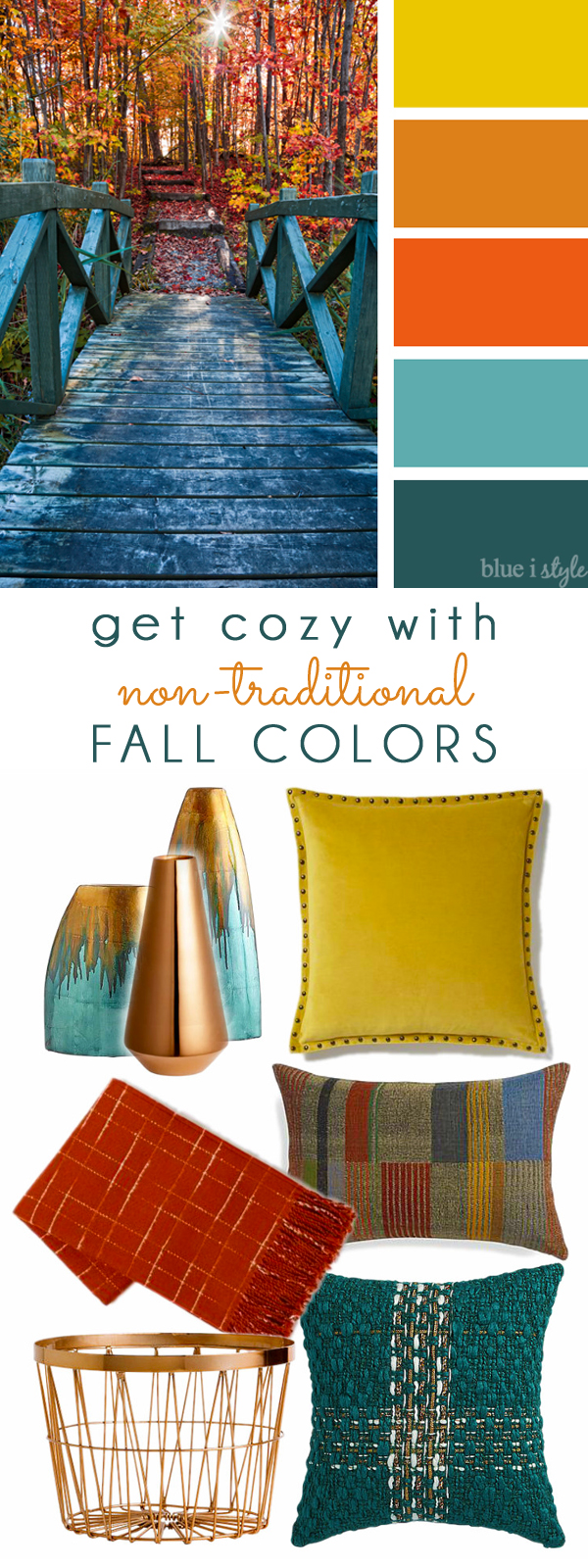 decorating With Style Get Cozy Non Traditional Fall