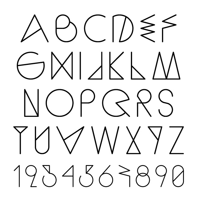 A Font For Summer Sequi