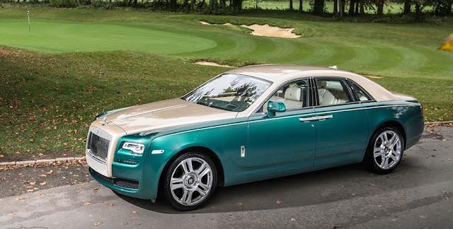 ロールスロイス、今度はゴルフコースをモチーフにした特別モデルを公開。