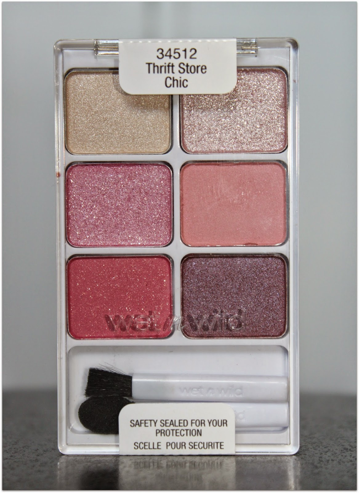 Wet n Wild Limited Edition Thrift Store Chic Eyeshadow Palette