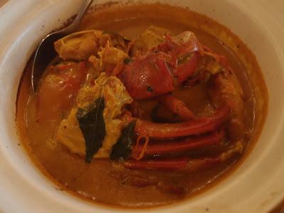 南瓜砂煲螃蟹