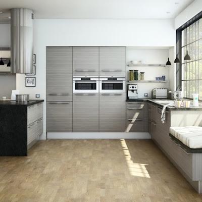 C mo tener una isla central en la cocina moderna for Cocinas en l modernas