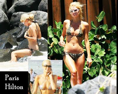 Composição de fotos com Paris Hilton