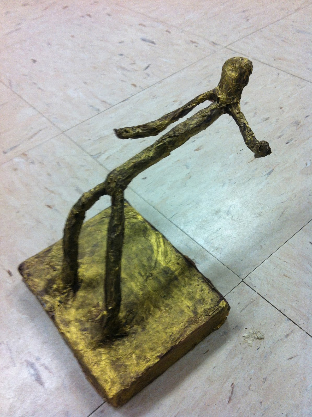 Walker Middle Magnet School Art: Sculptures inspired by Alberto ...