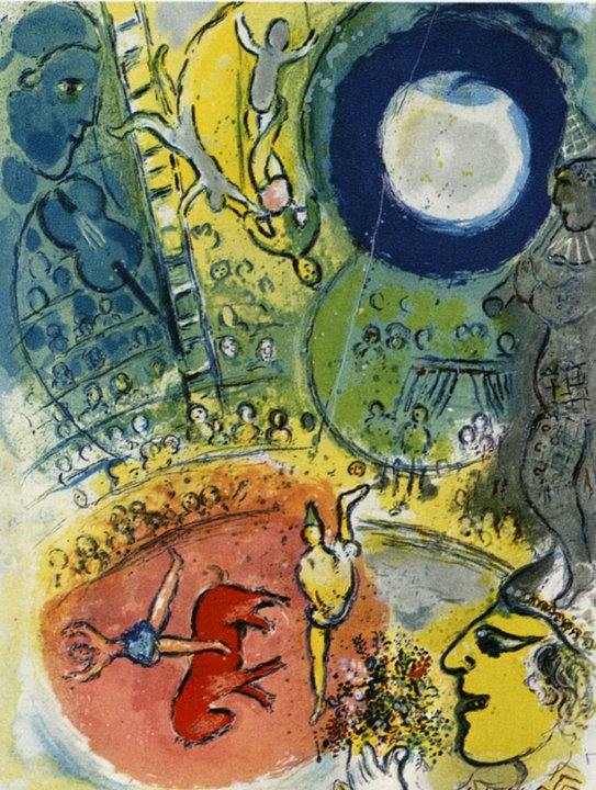 Marc Chagall ( France / born Russia 1887~1985 ) on ... Chagall Model