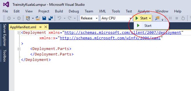 windows mobile visual studio: