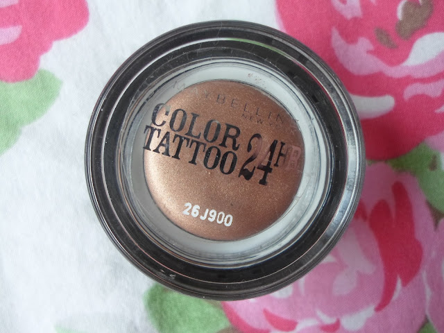maybelline colour tattoo on and on bronze packaging