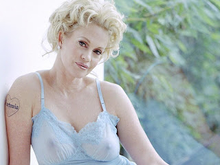 Melanie Griffith sexy photo shoot in see through nightwear UHQ