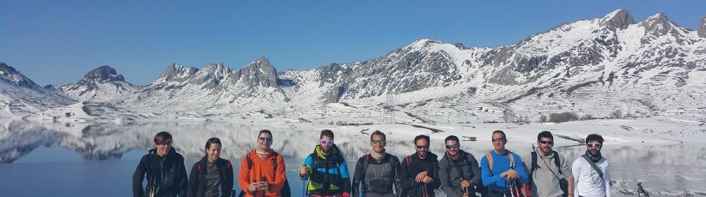 La montaña con amigos Mucho Mejor