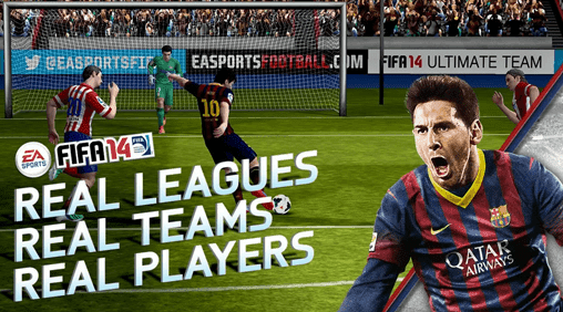 Download Fifa 2014 fo android