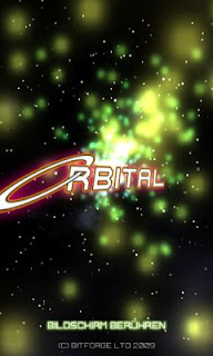 Screenshots of the Orbital for Android tablet, phone.