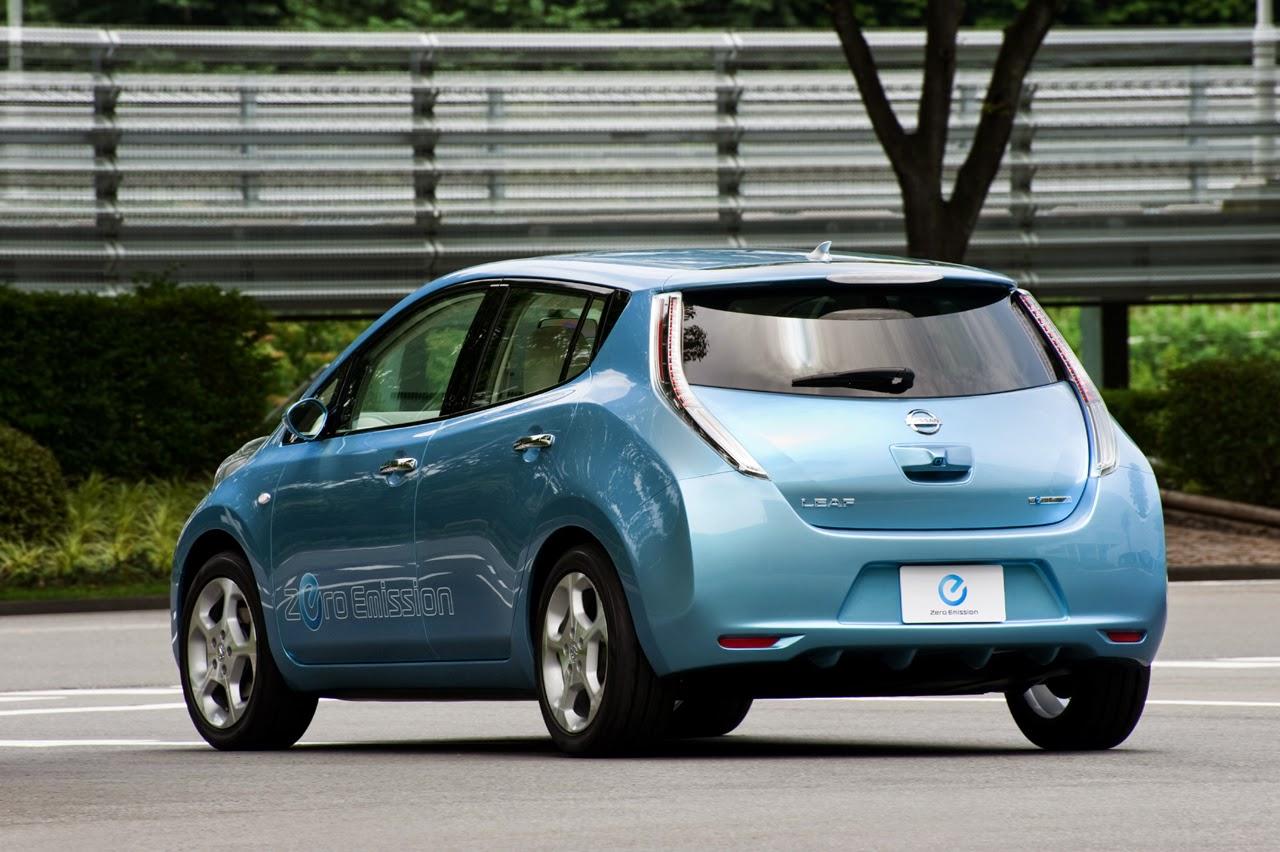 O híbrido mais vendido do mundo: Nissan Leaf comemora o título