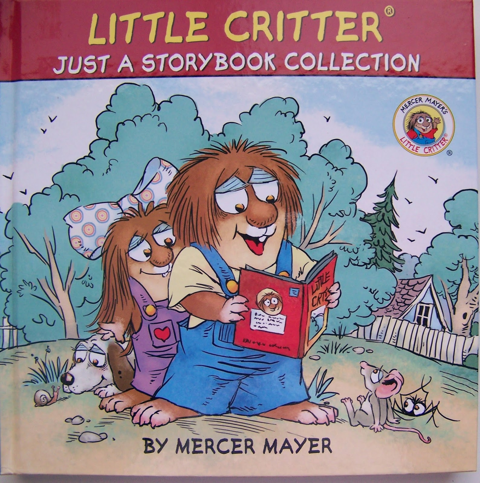 She Also Loves Little Critter And His Whole Family!