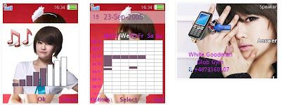寶藍@T-ara SonyEricsson手機主題for Elm/Hazel/Yari/W20﹝240x320﹞