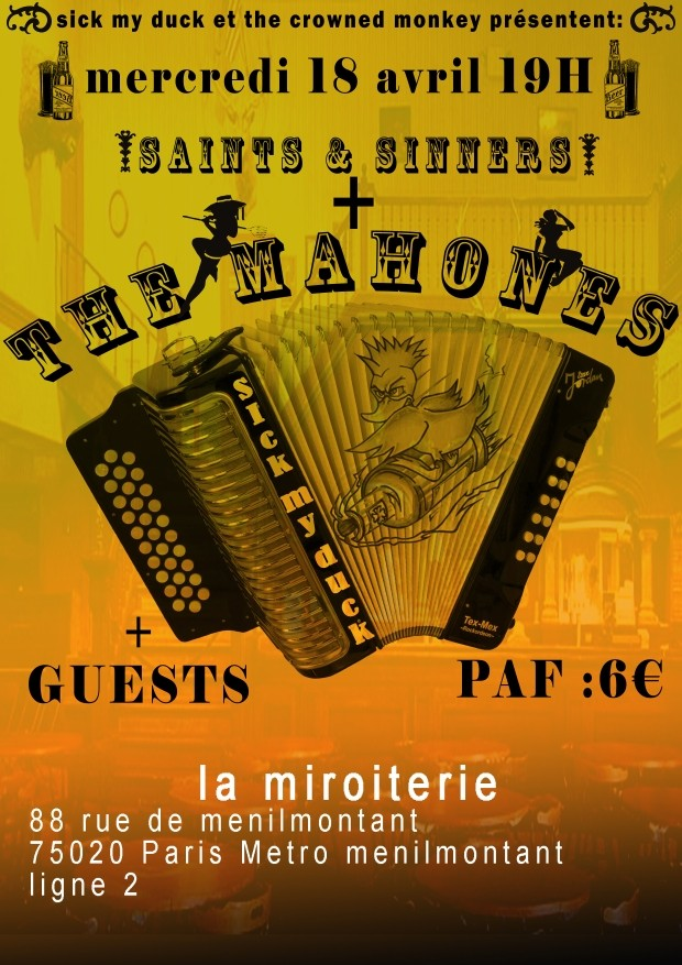 video the mahones live in paris 2012 celtic folk punk and more. Black Bedroom Furniture Sets. Home Design Ideas