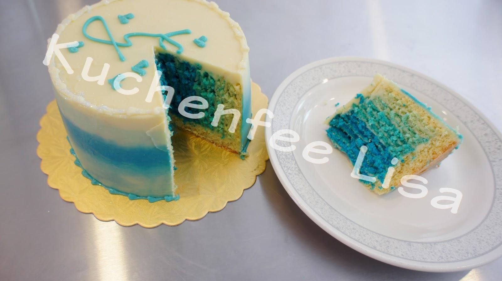 Kuchenfee Lisa Biskuit für Charlotte Biskuitkapsel~ Smeg Kochinsel