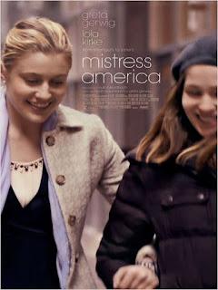 """Poster do filme """"Mistress America"""""""