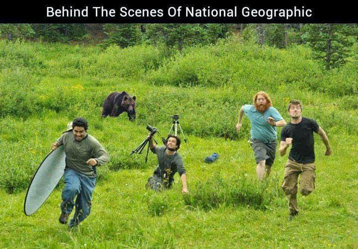 Πίσω από τις σκηνές του National Geographic
