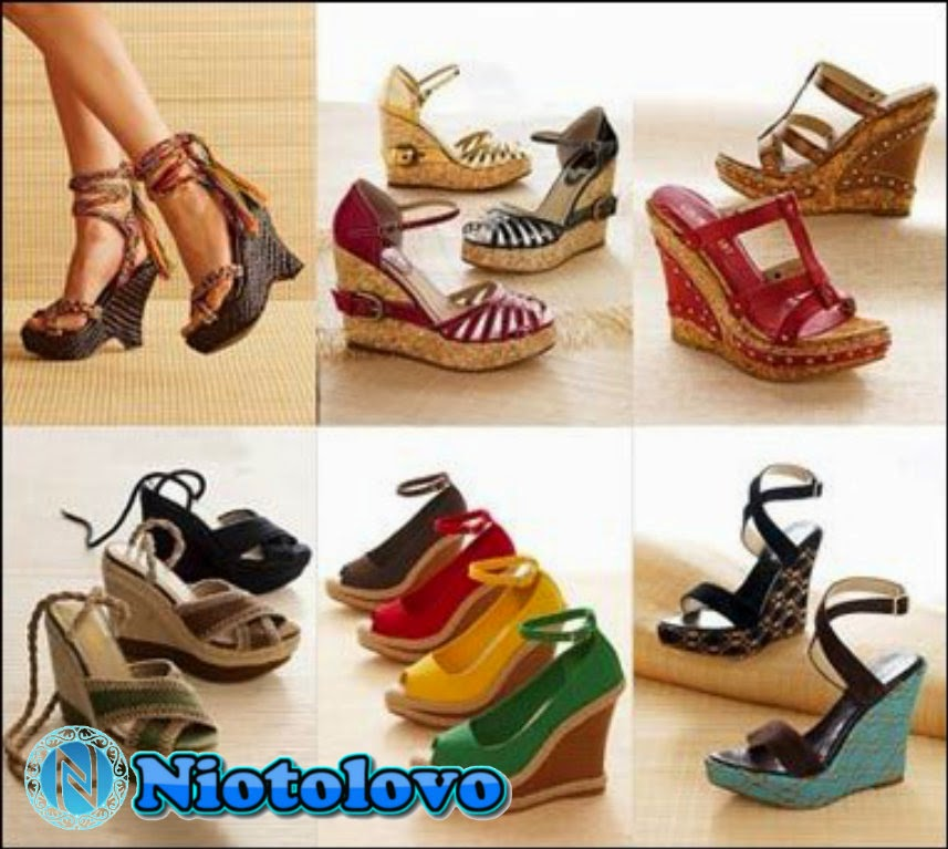 Tampilan Trend Sandal Wanita Terbaru 2014-2015 - Niotolovo
