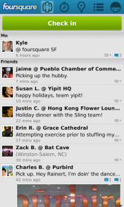 foursquare v5.5.9 BlackBerry