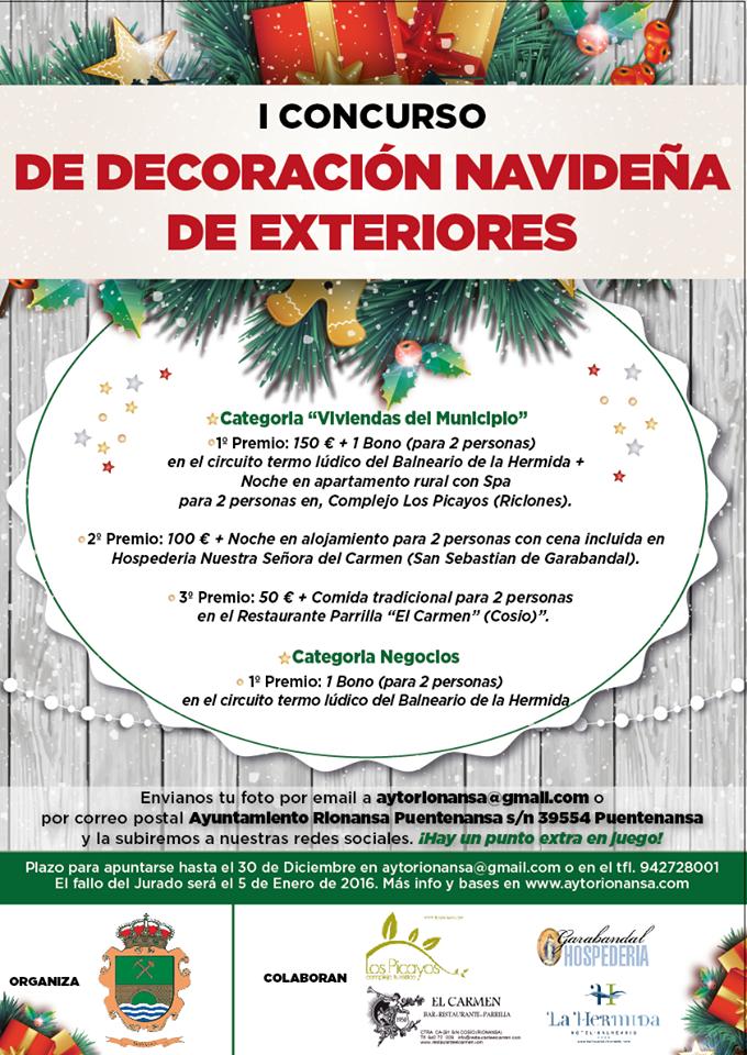 I concurso de decoraci n navide a de exteriores de - Decoracion navidena para negocios ...