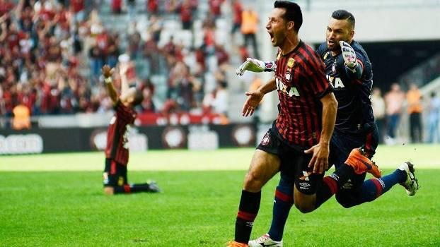 Vilches marcou o gol de empate do Atlético-PR