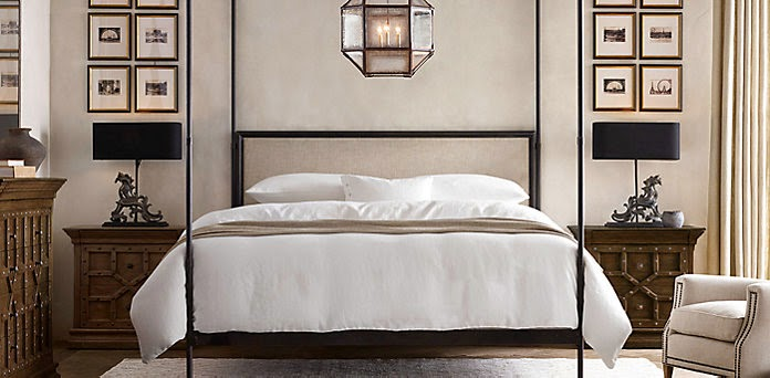 BEDROOMS: Fabulous Bedroom Designs by Restoration Hardware (01 ...