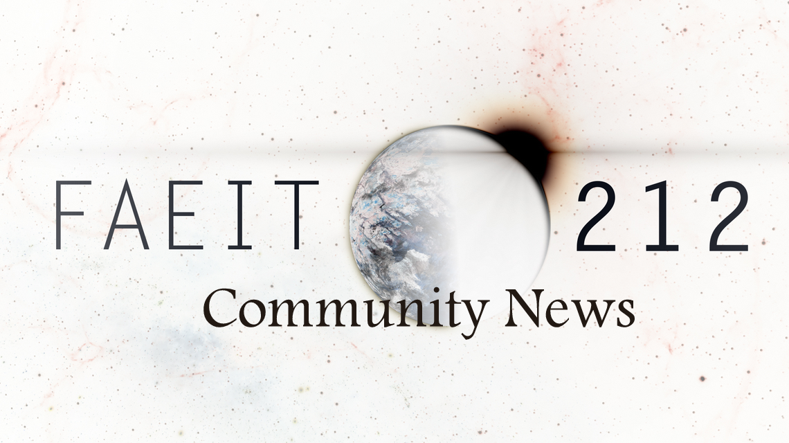 Faeit 212: Community News