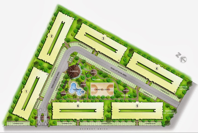 One Oasis Condominium, Ecoland, Davao City Site Devt Plan