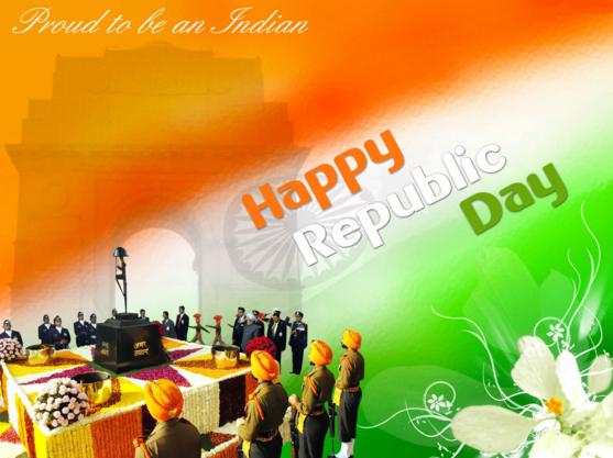 Happy Republic Day On 26 January