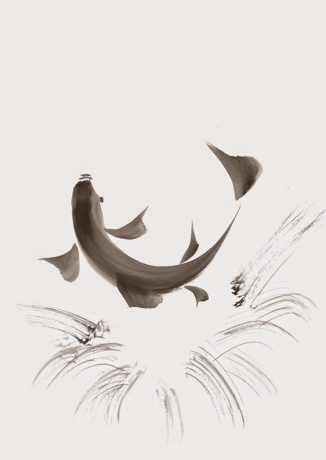 Atelier de peinture calligraphie japonaise essayez