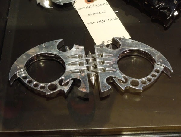 Batman and Robin Bat-Cuffs film prop