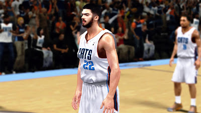 NBA 2K13 Byron Mullens NBA2K Patches