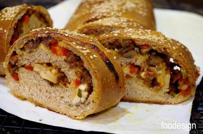 Recipe for pizza stromboli volcano of flavor Recipe in english