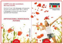 Documento politico Congresso ANPI 2016