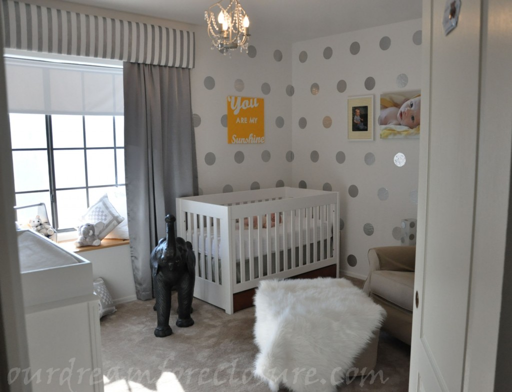 Custom nursery art by kimberly modern gender neutral for Modern unisex nursery ideas