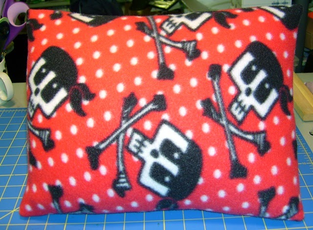 Pirate Pillow Front