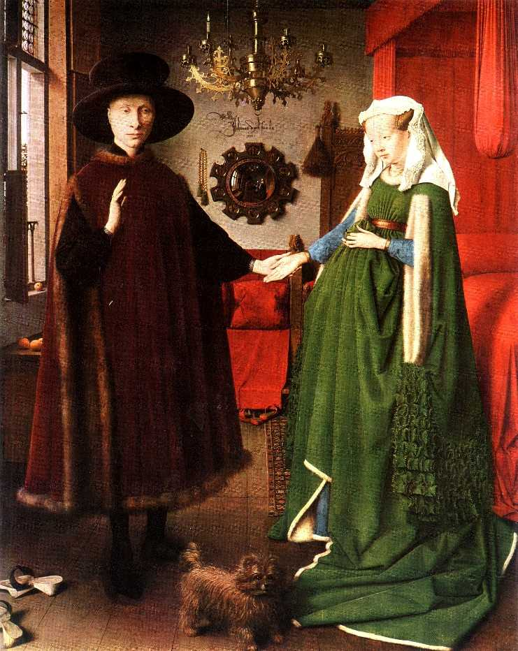 arnolfini marriage by jan van eyck Jan van eyck's the 'arnolfini portrait for more than half a century it was generally accepted that the painting depicted a marriage jan van eyck's.