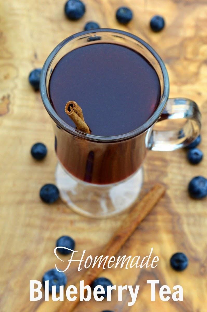 Homemade Blueberry Tea