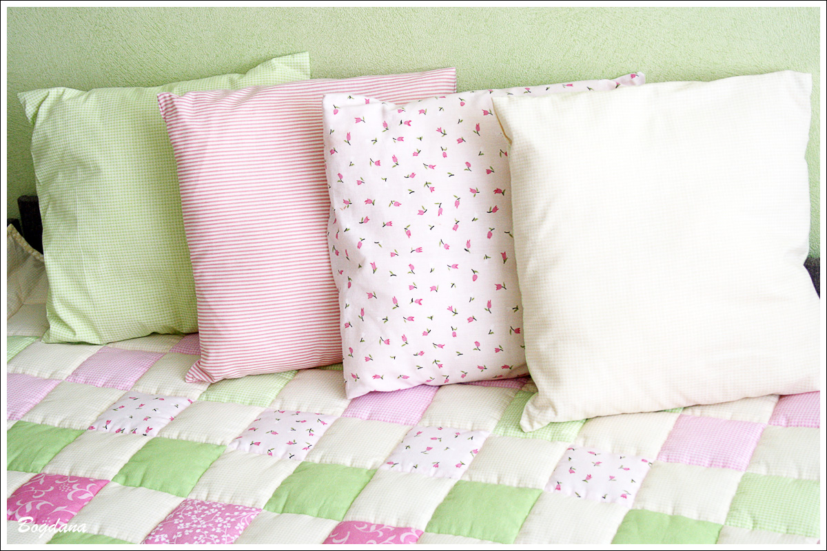 Стёганные подушки своими руками 99