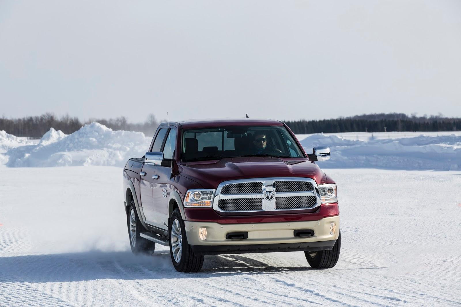 2015 Ram 1500 snow