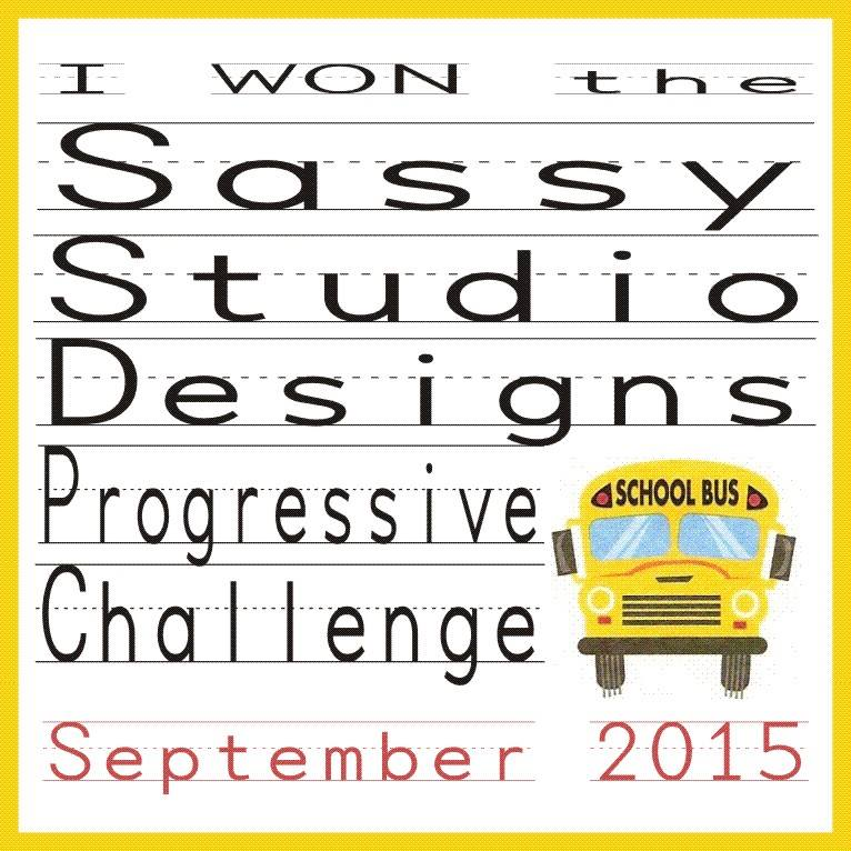 Sassy Designs Studio Progressive Challenge Winner