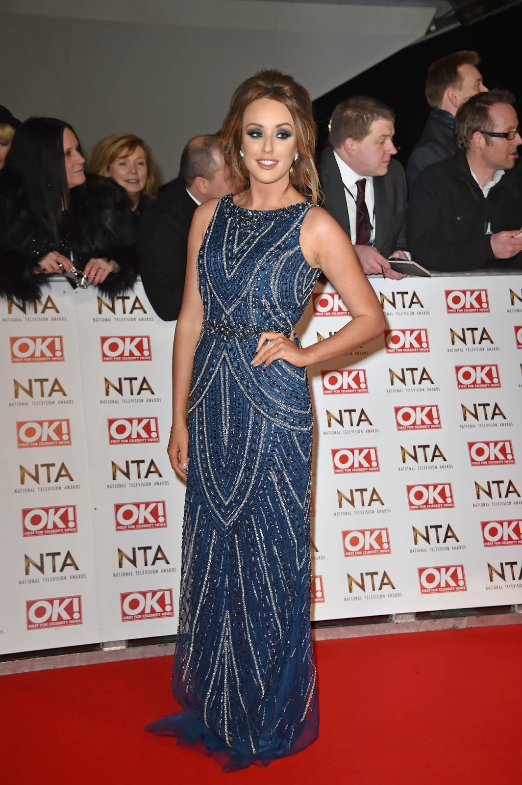 Charlotte Crosby - National Television Awards in London