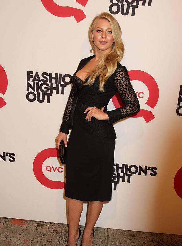 Julianne Hough At Fashion Night In Newyork
