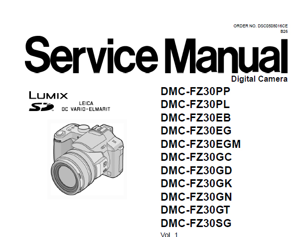 lumix fz30 service manual user guide manual that easy to read u2022 rh sibere co