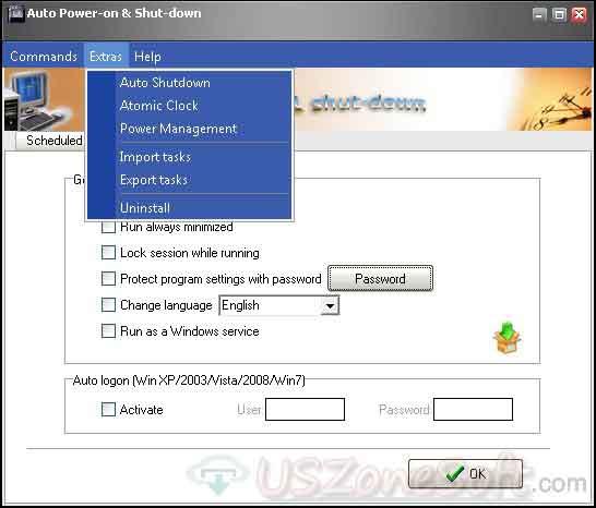 auto shutdown windows 7 run command