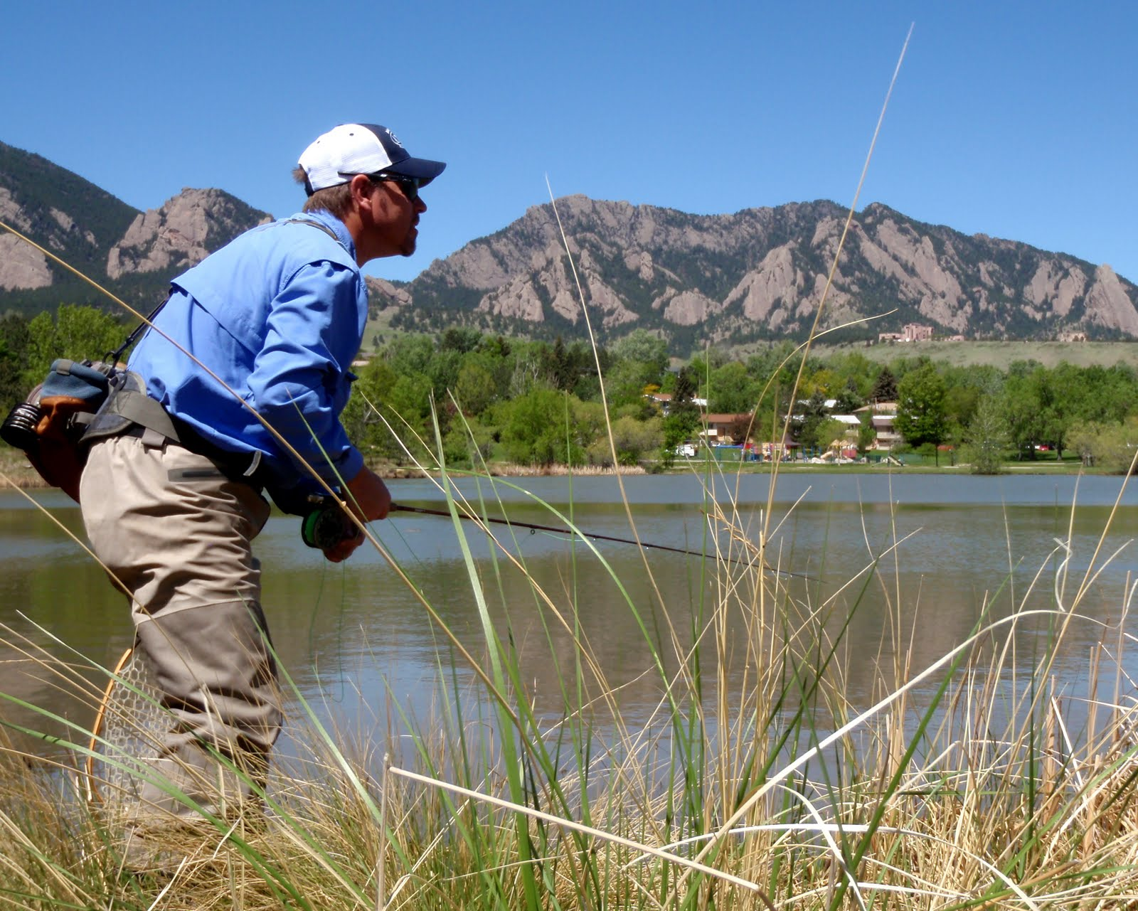 Colorado fly fishing reports nothin but blue skies for Boulder fly fishing