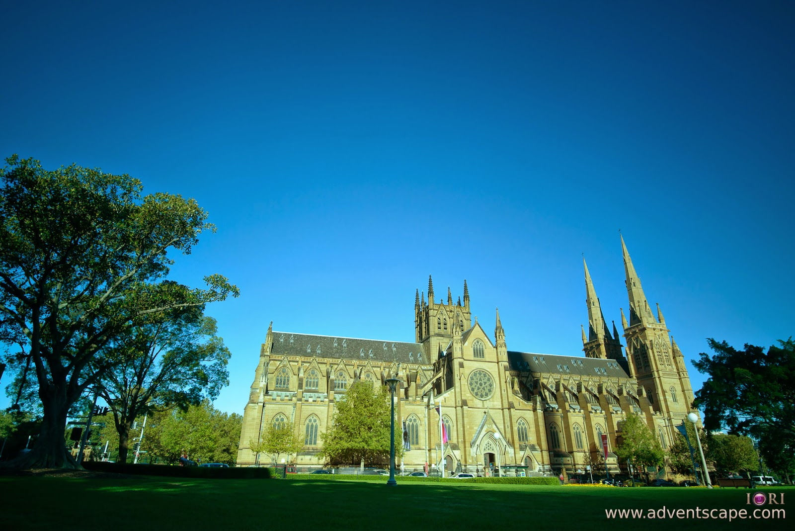 Philip Avellana, Australian Landscape Photographer, NSW, New South Wales, Sydney, Australia, St Mary's Cathedral, church, comparison, review, glass vs resin, filters, Lee Filters, soft ND, ND, neutral density, graduated neutral density, GND, grad nd, resin, 1.8, 6 stops, Hitech