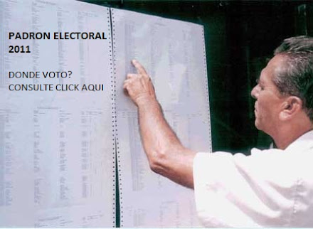 Padrón Electoral - Sepa donde le toca votar