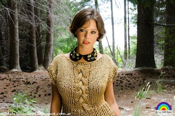 De las Bolivianas sweaters otoño invierno 2013 moda